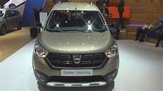 dacia dokker stepway tce 115 dacia dokker stepway unlimited 2 tce 115 start stop 115 hp 2018 exterior and interior