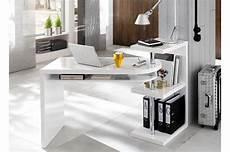 Bureau Design Blanc Laqu 233 Cbc Meubles