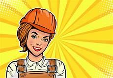 Builder Pop Style Free Vectors