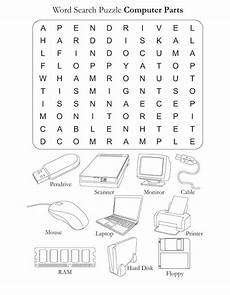 parts of the computer worksheets computer parts download free word search puzzle computer