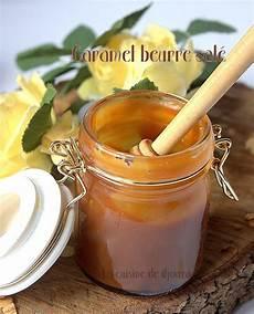 caramel cucine caramel au beurre sal 233 recette salidou recettes