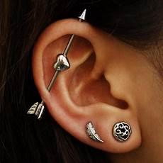 Piercing Barre Cartilage Les 25 Meilleures Id 233 Es De La Cat 233 Gorie Piercing Oreille