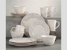 Scarlett 16 Piece Dinnerware Set   Pottery Barn