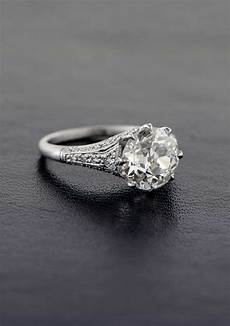Platinum Engagement Ring Vintage Engagement Rings