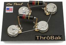 les paul wiring harness throbak 50 s style wiring kit for les paul electric guitars throbak 50 s les paul wiring harness with luxe bumble bee reverb