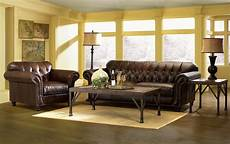 Home Decor Ideas Living Room Traditional Ls by Simple Elegance Flynn Tufted All Leather Sofa 222127