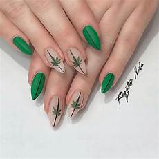 4 20 nail art for your inner stoner behindthechair com