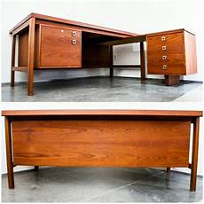 teak home office furniture mid century danish modern desk teak arne by