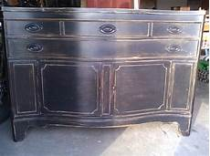 Kitchen Lowboy Buffet by I This Distressed Black Buffet I Want One Just Like