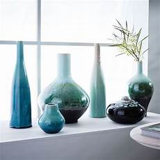 objet deco reactive glaze vases green west elm