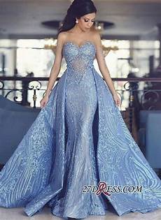 modest lace sweetheart long evening dress 2019 detachable train prom dress bc0141 evening