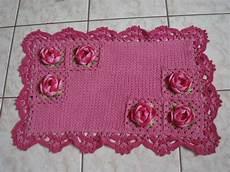 rosa tapete tapete rosa com rosas no elo7 artesanais cel 23c6f3