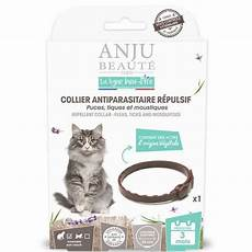collier anti tique chat collier antiparasitaire r 233 pulsif chat pour chat anju