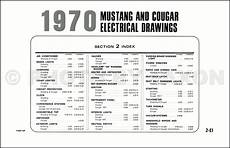 1970 ford mustang mercury original wiring diagram electrical schematic 70