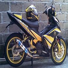 Modifikasi Warna Jupiter Mx by Modifikasi Striping Jupiter Mx Dengan Stiker Keren