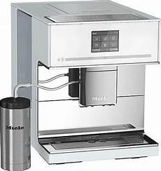 kaffeevollautomaten cm 7500 brilliantwei 223 miele stand