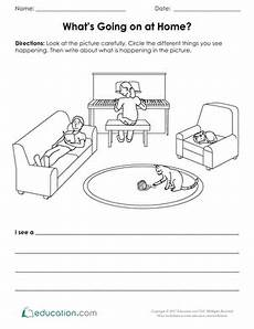 what s going at home worksheet education com