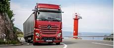 mercedes trucks presents the new actros 2019