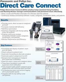 panasonic intersystem panasonic nurse call integration soulutions advanced care ip nurse call and potlys direct care