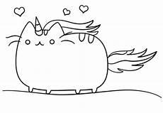 ausmalbild kawaii katzen einhorn ausmalbilder kostenlos