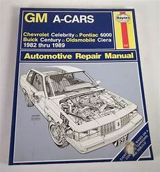 online car repair manuals free 1989 buick century electronic throttle control details about haynes gm a cars auto repair manual no 829 1982 1989 pontiac 6000 buick century