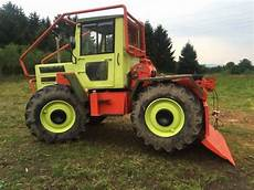 mb trac forst mercedes mb trac 800 forst tracteur forestier