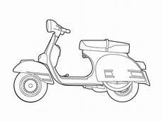 Fortnite Malvorlagen Mod Vespa Rally 200 Illustration For Planning Out