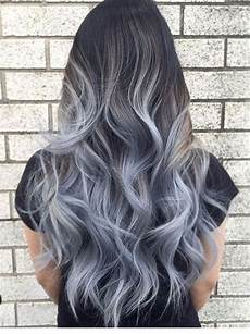exclusive black and grayhair ombre hairs ombrehair