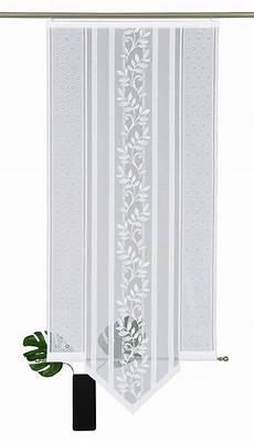 schiebegardinen mit klettband schiebegardine 187 flora spitz 171 vhg klettband 1 st 252 ck