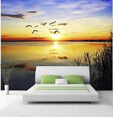 fototapete sonnenuntergang poster fototapete selbstklebend natur sonnenuntergang ebay