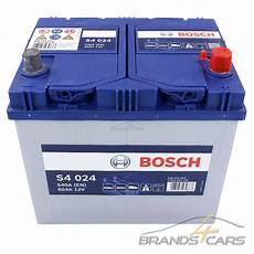 Bosch S4 024 60ah 540a 12v Autobatterie Starterbatterie