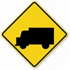 Truck Crossing Traffic Sign W11 10 Sku X W11 10