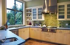 Green Glass Tiles For Kitchen Backsplashes Kitchen Color 15 Fabulous Green Backsplashes