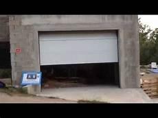 porte de garage sectionnelle plafond motoris 233 e pos 233 e par