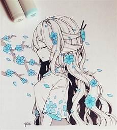 Hei 223 Este Absolut Freie Blaue Blumen Die Zeichnen