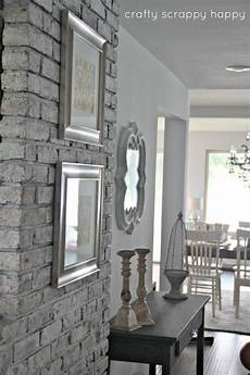 diy old outdated to chic brick wall tutorial this is a