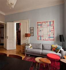 wohnzimmer rot grau color scheme and grey eclectic living home