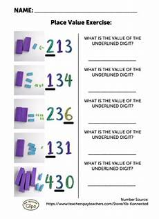 place value worksheets 2nd grade common 5419 free 2nd grade worksheet understanding place value of 3 digit numbers digi block store