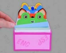 karteikasten selber basteln vokabelbox selbst basteln lernen mit hello