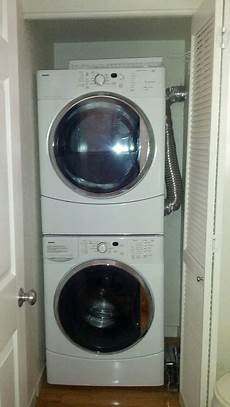 free software installing stacked washer dryer