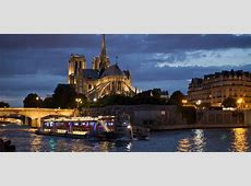 Dinner Cruise Bateaux Parisiens   Pick up and Drop off