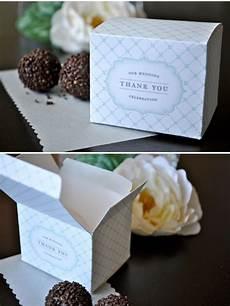diy favor boxes wedding ideas diy wedding favors favor boxes box template printable