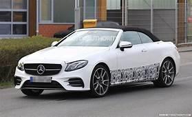 2018 Mercedes AMG E43 Cabriolet Spy Shots
