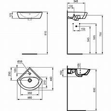 Hauteur Toilette Handicapé Ulysse Lave Mains D Angle 48 Cm Blanc Porcher Free Bim