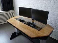 Bureau Ordinateur Design If I Had The Workshop I Would Build Computers Like This D