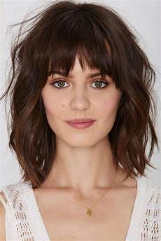 23 best medium length hairstyles with bangs for 2018 2019 medium hair styles bangs with