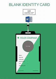 how to make id card template in word 30 blank id card templates free word psd eps formats