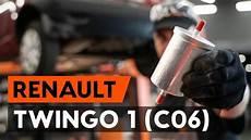 changer un filtre 224 carburant sur renault twingo 1 c06