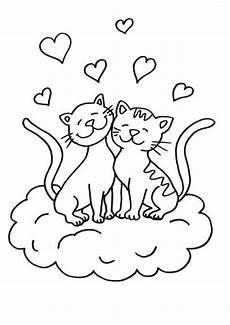Ausmalbilder Katzenfamilie Malvorlage Katzen Druckfertig Of Ausmalbild Katze