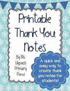 thank you card template for students from it s that time of year again printable thank you notes